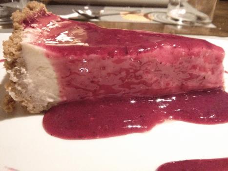 Tarta de queso casera de Belmondo, Valencia.