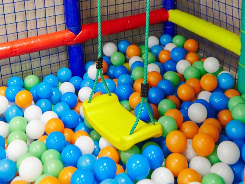 Parque de bolas para los más peques… y para dar envidia a los adultos