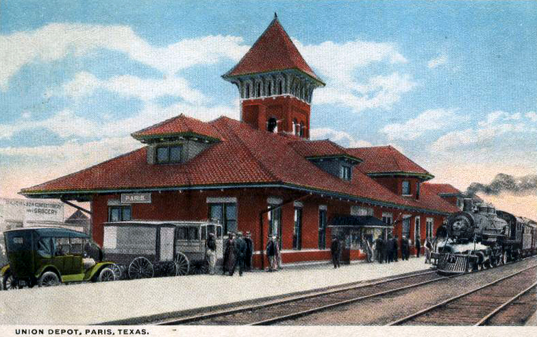 Image result for paris texas train station