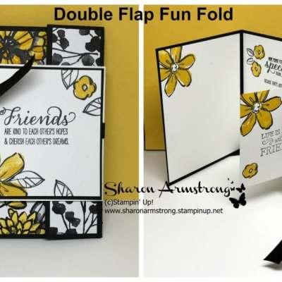 Double Flap Fun Fold for Friends