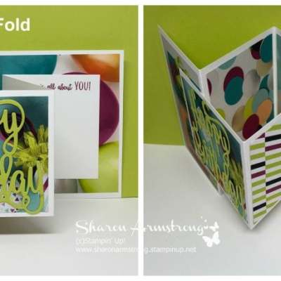 Double Z Fold Card Made Easy