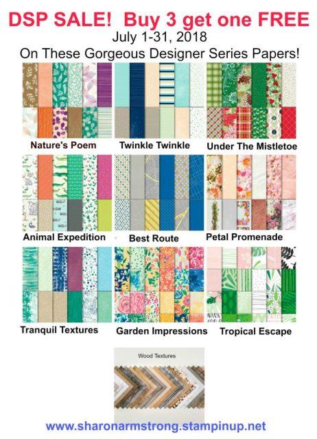 Stampin' Up! Designer Paper Sale
