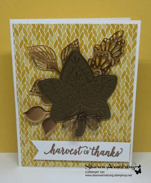 die cutting and heat embossing cards