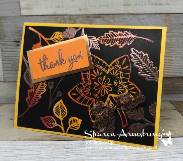 Learn the Joseph's Coat Technique with this video tutorial by Sharon Armstrong, TxStampin Sharon. Lots of card making ideas and tips to be found on the blog. #cardmaking #cardmakingtechniques #greetingcards #stampinupcards #sharonarmstrong #txstampinsharon