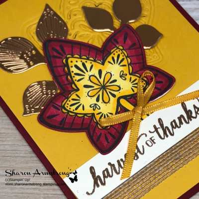 Fall Foliage Greeting Card Using Falling for Leaves