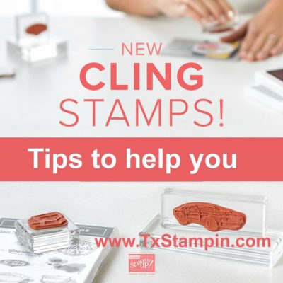 Tips for Cling Mount Stamps