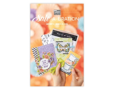 Sale-A-Bration Catalog 2019 with Sharon Armstrong, TxStampin Sharon