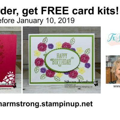 TxStampin January 2019 Online Classes