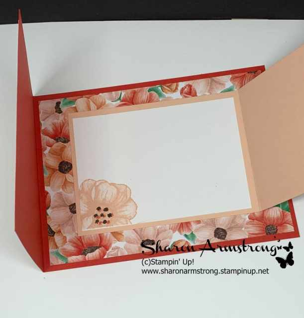 Hand-Stamped-Flower-on-the-Inside-of-Fun-Fold-Card-Made-by-Sharon-Armstrong