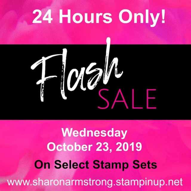 24 Hour Flash Sale Ends Tonight – Save 15% on Select Stamps!