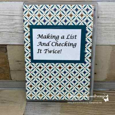DIY Notepad Holder To Help You Keep Your Life Organized