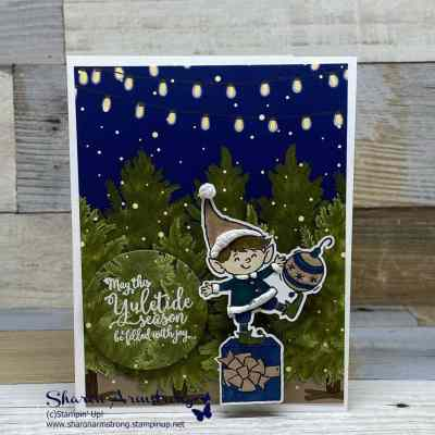 The Most Adorable DIY Elf Christmas Card Ever