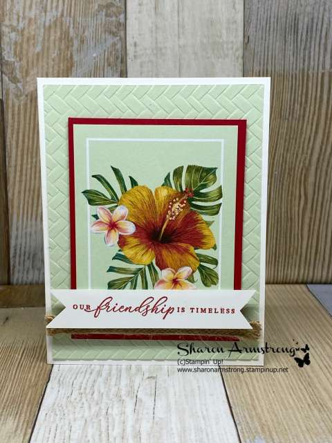 Make-Easy-Cards-with-Memories-&-More-Tropical-Friendship-Card