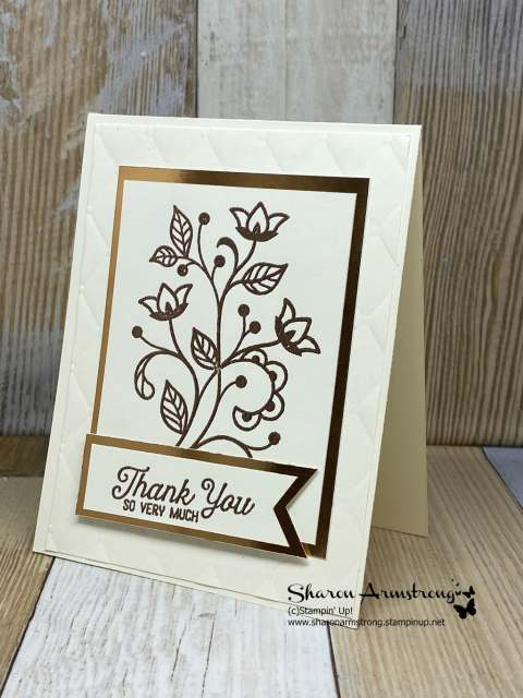 DIY-Thank-You-Card-in-Copper-Embossing