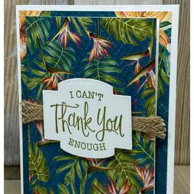 Simple Thank You Cards to Make Quickly + March Card Kit Info