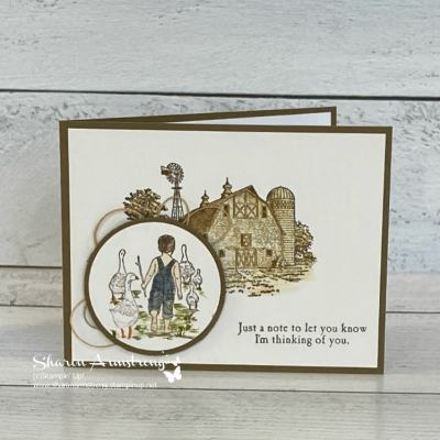 Country Charm Greeting Cards You Can Make