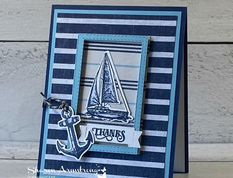 A Masculine Thank You Card That Steals His Heart!   Doubles as Father's Day Card