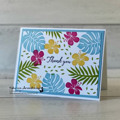 2-simple-greeting-cards-handmade-with-bright-tropical-flowers