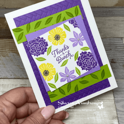 This Colorful Thank You Card Idea is So Easy to Make