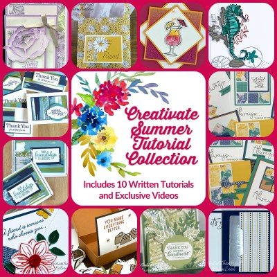 Creativate Summer Online Retreat Tutorials Now Available