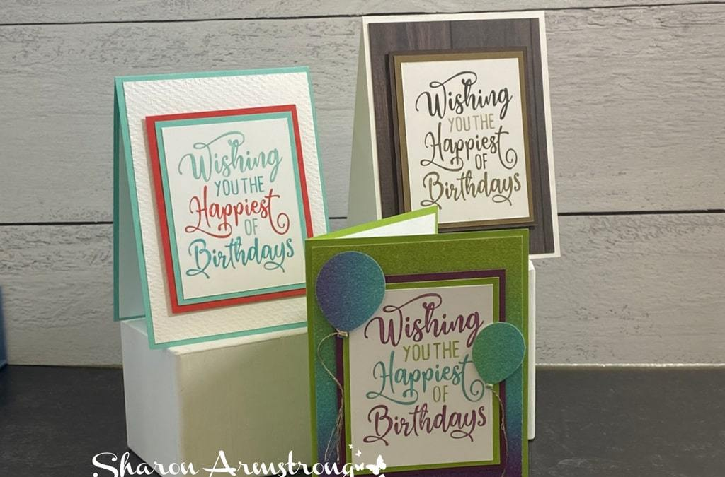 Make a Birthday Card with Fun & Bright Paper