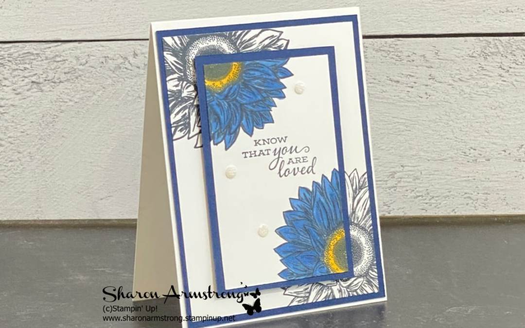 Card Making Technique: Spotlight   The Best Spotlight Card This Year!