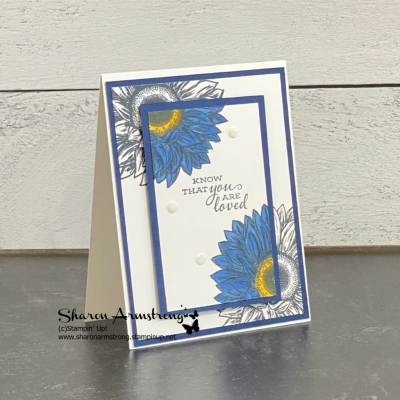 Card Making Technique: Spotlight | The Best Spotlight Card This Year!
