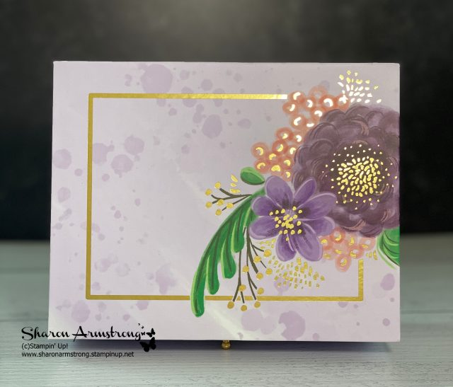diy-gift-idea-gorgeous-posies-note-card-with-gold-accents