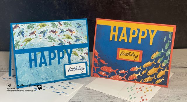 handmade-birthday-cards-perfect-for-kids-and-kids-at-heart-with-fish-and-turtles