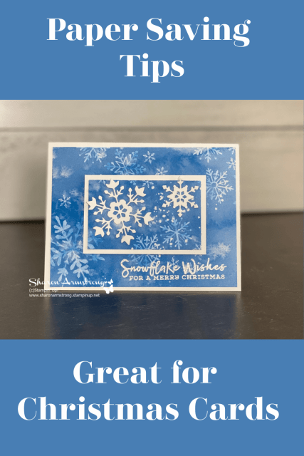 New Christmas Card Ideas You Can Make Designer Paper Tip