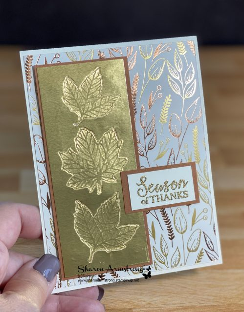 how-to-emboss-foil-paper-copper-foil-cardstock-emboss-impression-on-thank-you-card