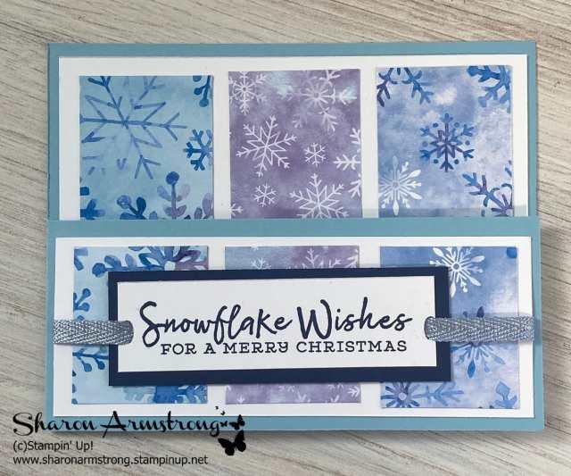 This barn door fold card is perfect as a Christmas card idea.