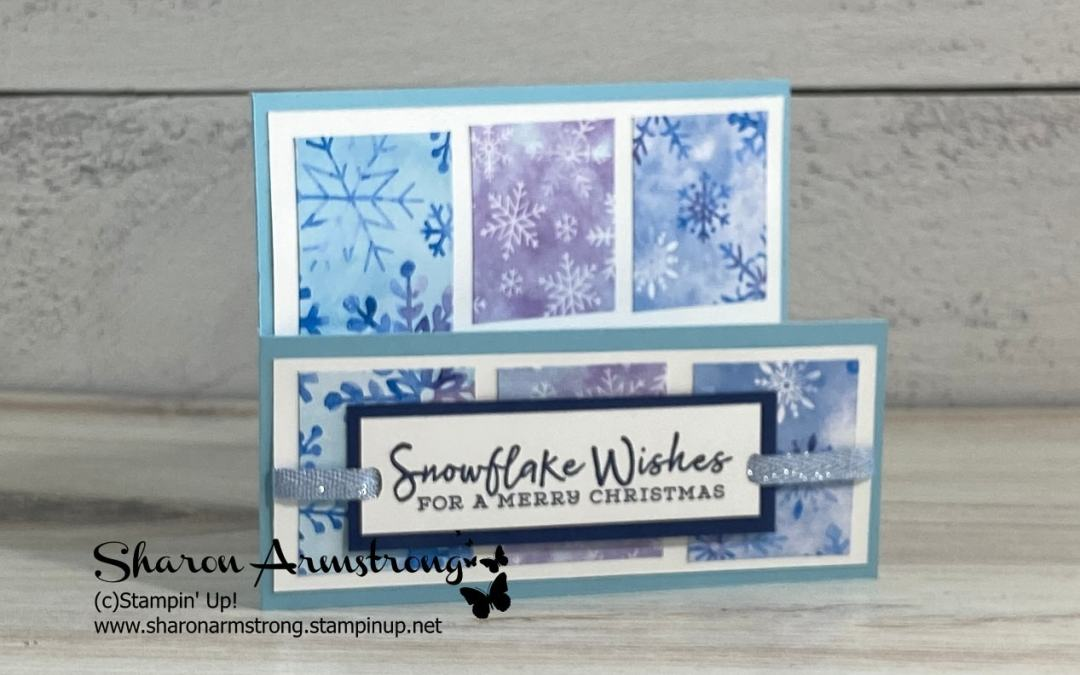 A Barn Door Fold Card and the Reasons Why We Love Them