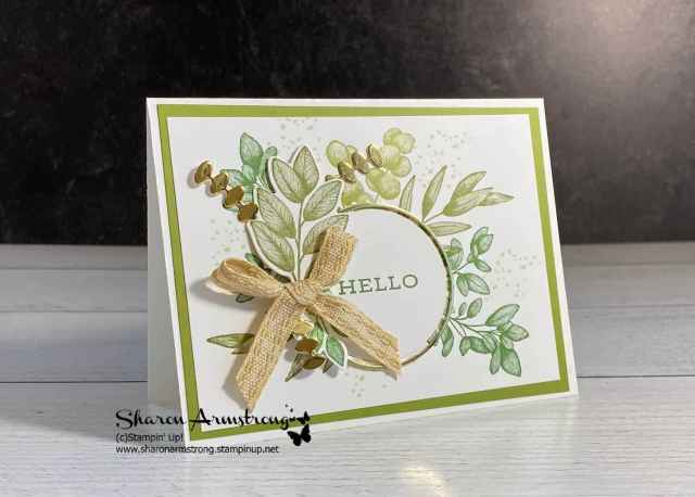 Step up your handmade card and die cutting with a bow made of ribbon