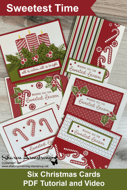 Stampin' Up! Sweetest Time Bundle Card Making Class by Sharon Armstrong