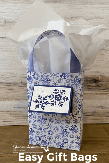 DIY gift bags are SO easy to make and adorable too. Save this to your Pinterest board.