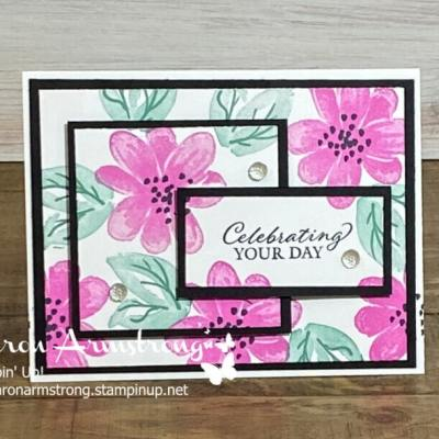 A Favorite Card Technique That's Easy: Triple Time Stamping