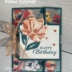 A Fun Fold Birthday Card That's Beautiful