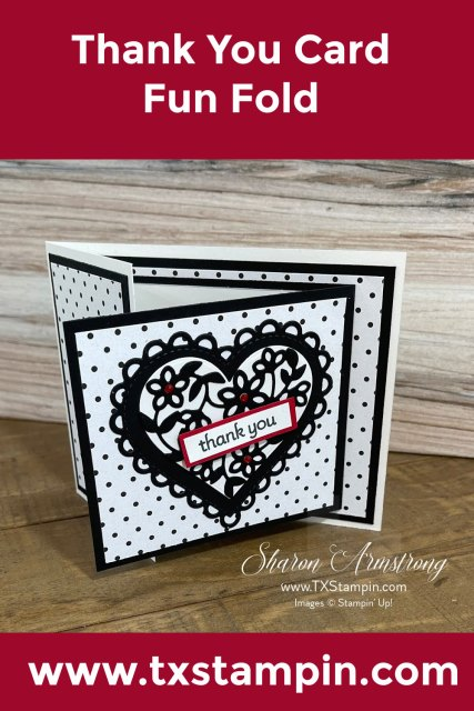 Lots of heart greeting card tutorial you'll want to save to Pinterest.