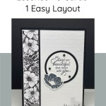 Stampin' Up! Floral Essence - 3 Cards 1 Easy Layout