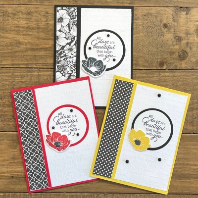 How to Make 3 Beautiful Handmade Cards in as Little as 15 Minutes