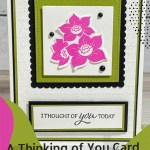 A Thinking of You Card You Can DIY in Minutes