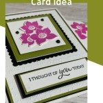 Stampin' Up! Tranquil Thoughts Card Idea