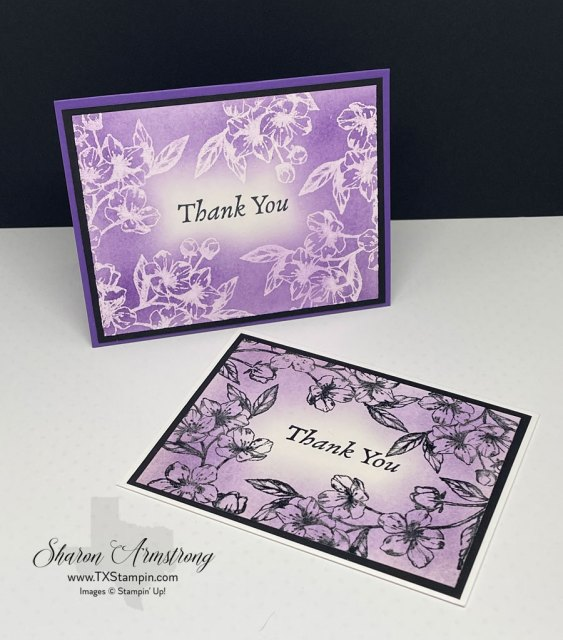 The emboss resist technique is easy to learn; choose the embossing powder of your choice.