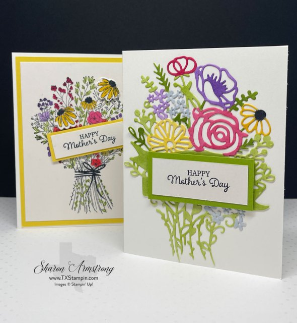 Let me teach you 2 ways to make handmade Mother's Day Cards.