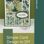 Simple Card Design to DIY in Under 5 Minutes