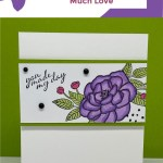 Make Shimmery Greeting Cards That Share So Much Love