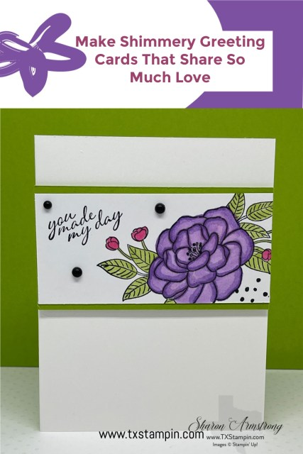 The Stampin' Up! So Much Love stamp set makes beautiful greeting cards.