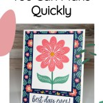 Handmade Summer Cards You Can Make Quickly