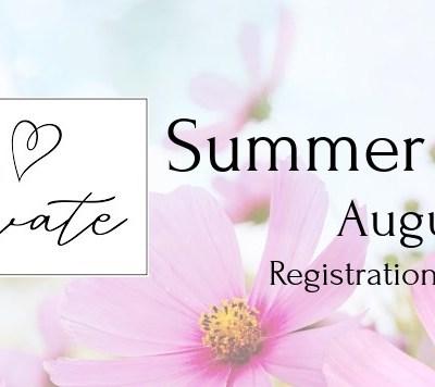 Creativate Summer 2021 Online Retreat